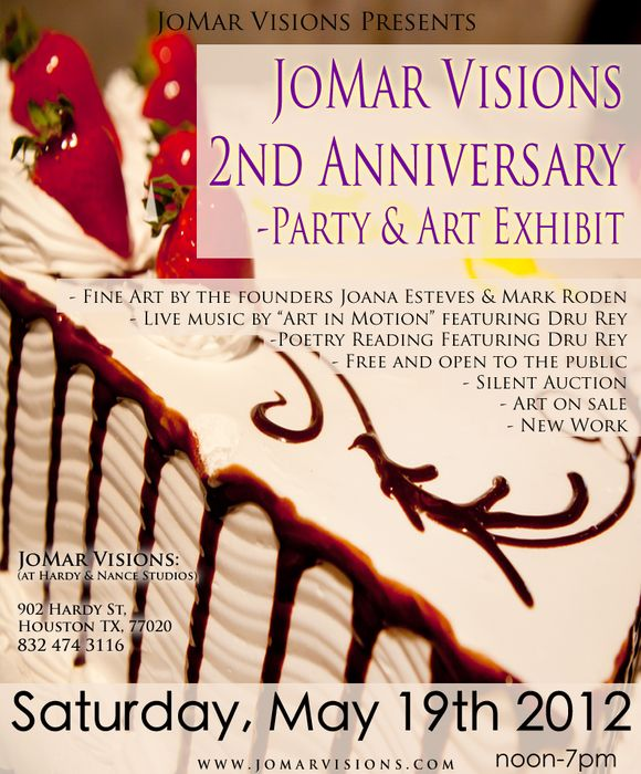 JMV 2nd Anniversary Party & Art Exhibit