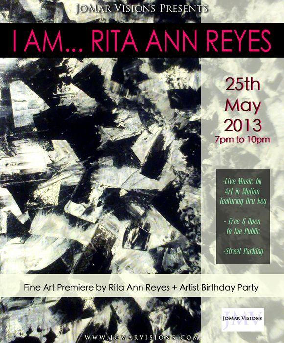 I AM... RITA ANN REYES