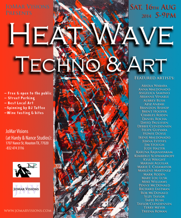 Heat Wave- Techno & Art