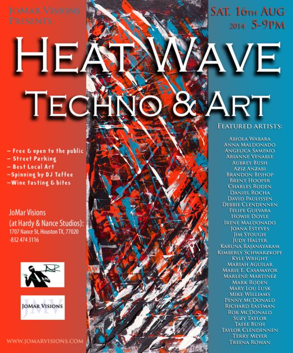 Heat Wave- Techno & Art