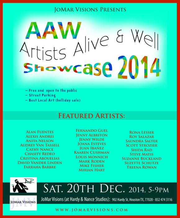 AAW Showcase 2014flier