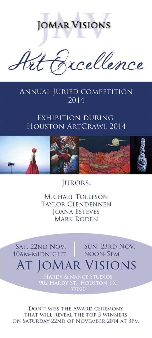 JMV Art Excellence 2014 front